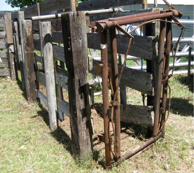 Used Cattle Head Gate | Motorcycle Review and Galleries